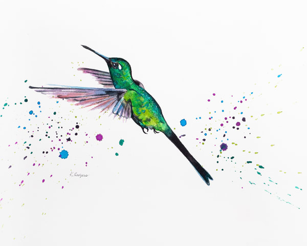 In Flight Art   Katherine Rodgers Fine Art