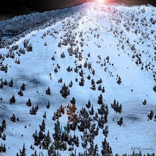 Snow Clad Mountain Lake Tahoe  Art   Cutlass Bay Productions, LLC