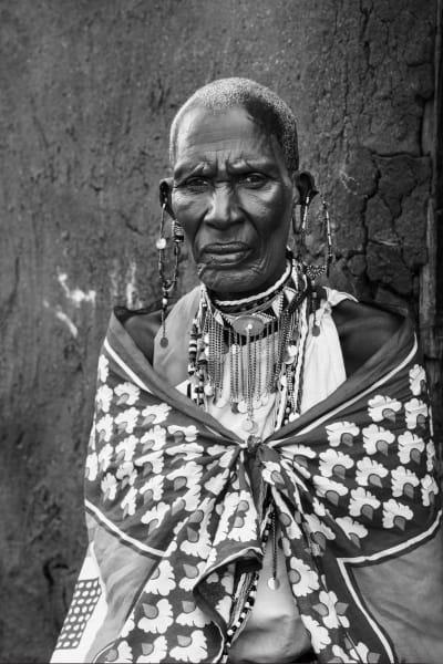 Masai Fierce Elder Photography Art | nancyney