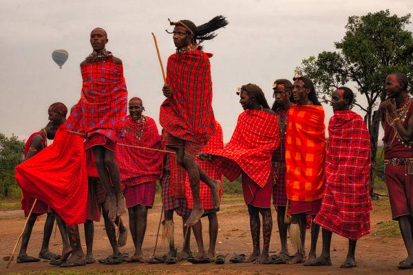 Masai Jump For Joy Photography Art | nancyney