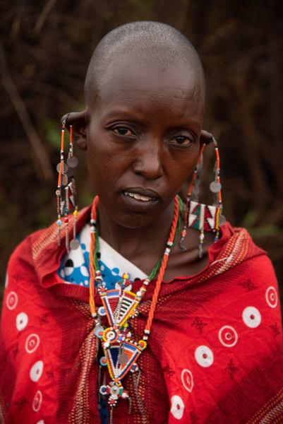 Masai Earings Photography Art | nancyney