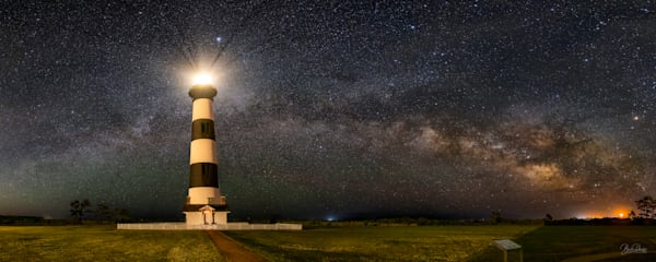 Bodie Island Lighthouse and the MIlky Way