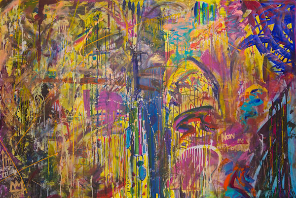 Can I Say Something Crazy Art | Justin Hammer Art