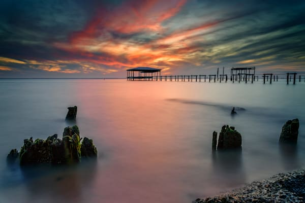 Afterglow on Mobile Bay | Shop Photography by Rick Berk