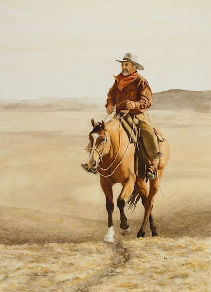 "Raymond Wattenhofer Fine Art Print ""Bone Dry"""