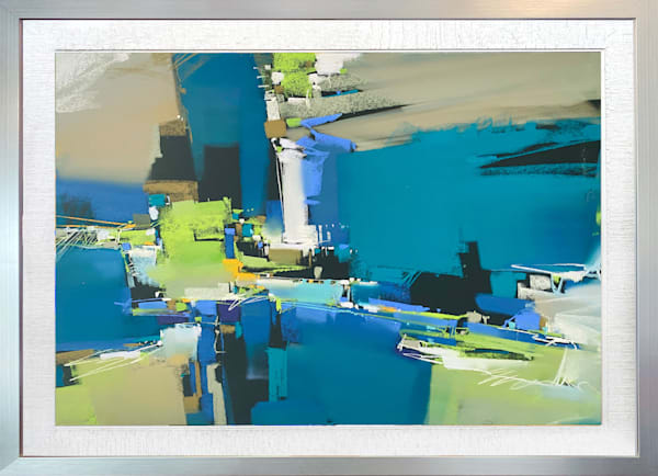 Nocturne In Blues Art | Michael Mckee Gallery Inc.