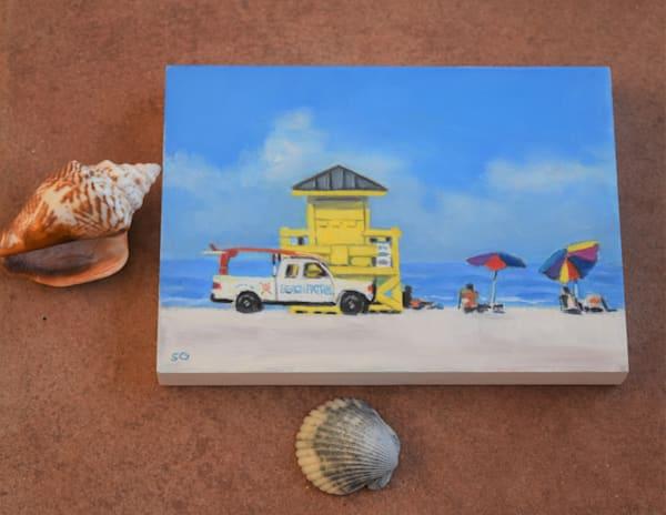 Beach Patrol Art | Sharon Guy