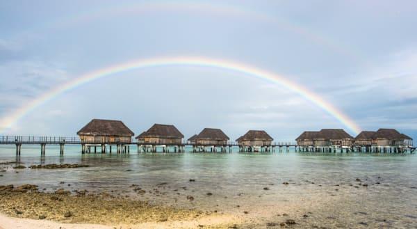 Double Rainbow In Paradise  Photography Art | Visual Arts & Media Group Corporation