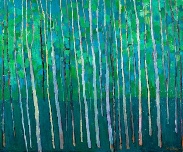 Green Forest Art | Andrea kelly Fine Arts