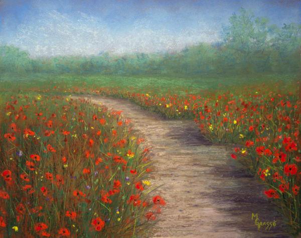 Poppy Love  Art | Mark Grasso Fine Art