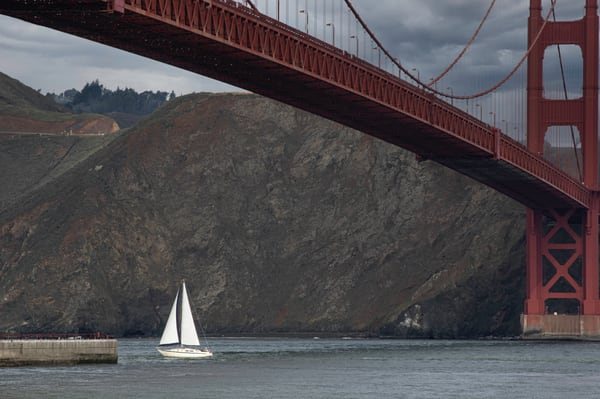 Sailing The Bay Photography Art | Kathleen Messmer Photography