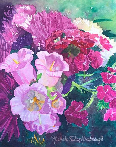 Friendship Bouquet Art | Michele Tabor Kimbrough