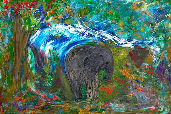 """The Mighty Jungle"" Art | JD Shultz Art"