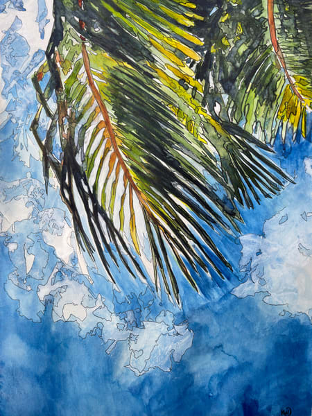 Palm Art   Water+Ink Studios