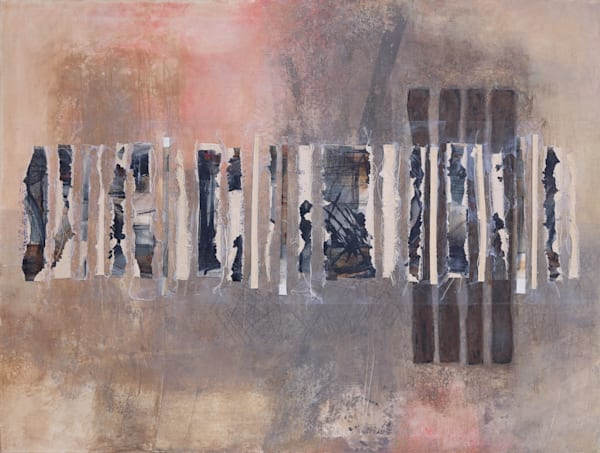 Elegy for Old Art, Interludes - Original Abstract Painting | Cynthia Coldren Fine Art