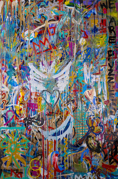 We Are Puzzles 5 Art   Justin Hammer Art