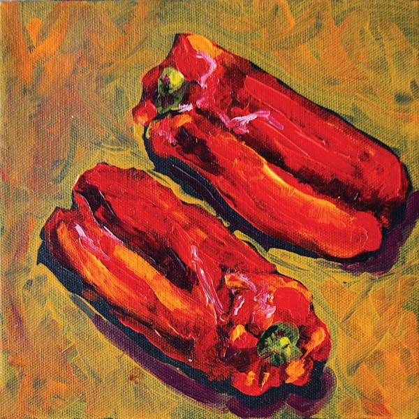 Sexy Peppers Art | jillalthousewood