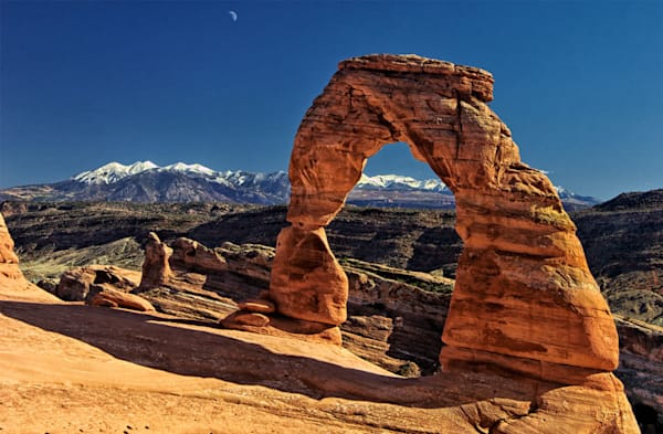 """""""Delicate Arch"""" fine art photograph by Fred Neveu."""