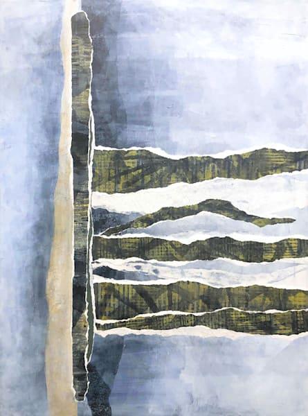 Sandbank  - Original Abstract Painting | Cynthia Coldren Fine Art