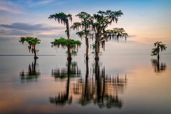 Lake Maurepas Reflection | Shop Photography by Rick Berk
