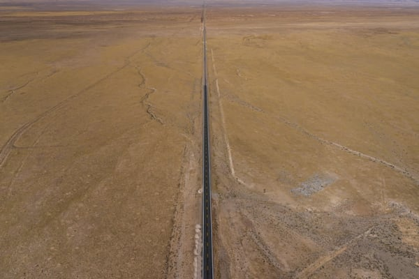 Disappearing highway