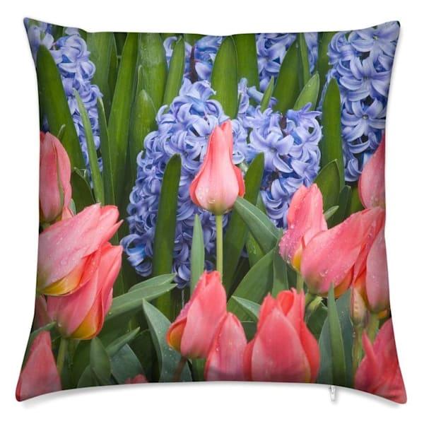 Essence of Spring Throw Pillow