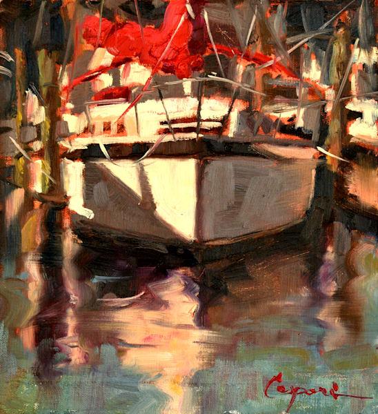 Solo 8x9 Oil 2021 Art | robincaspari