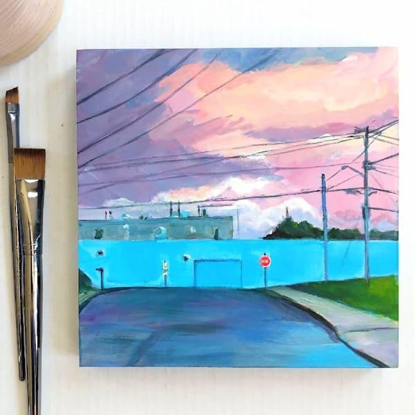 Small Town Art | Lesley McVicar Art