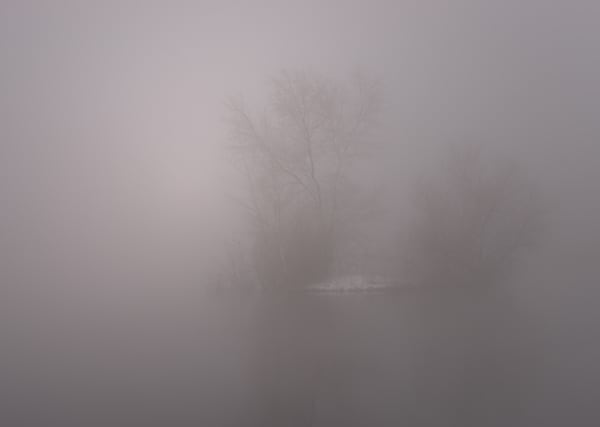 Walden Pond Mirage Photography Art | matt lancaster art
