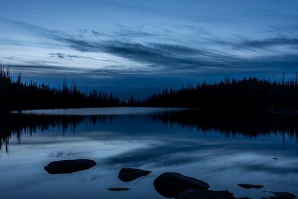 Blue Sunrise Photography Art | matt lancaster art