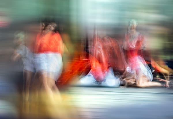 Abstract Colour in Motion