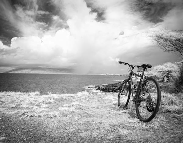Water Break, Maui Photography Art | The World in Black and White