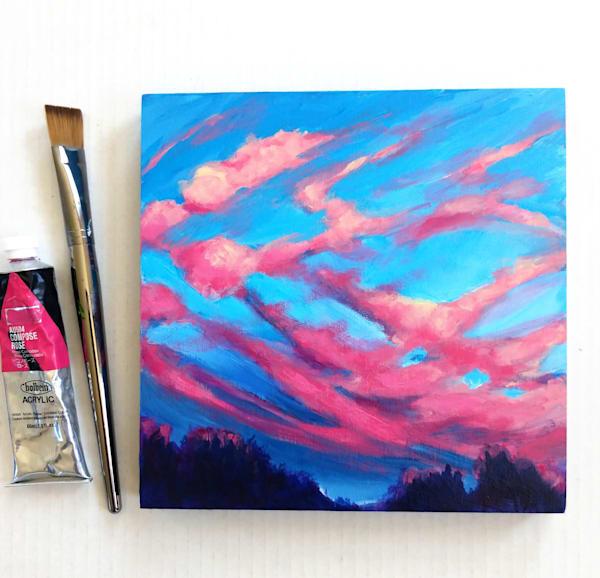 Last Glow Art | Lesley McVicar Art