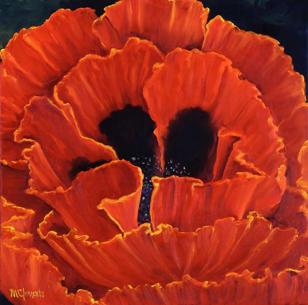 Flamenco Ruffles Art   Marsha Clements Art