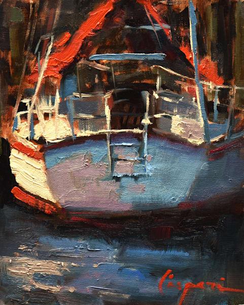 Low Key Study 6.5x8 Oil 2021 Art | robincaspari