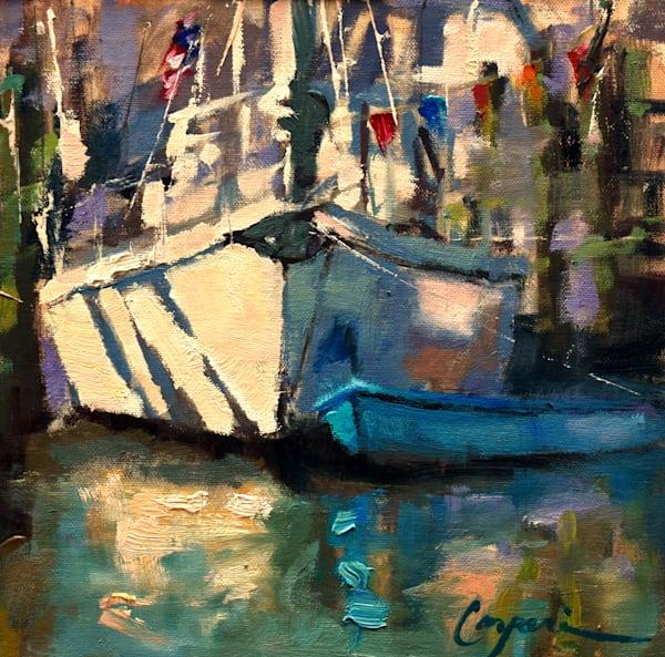 It Teals Good Study 8x8 Oil 2021 Art | robincaspari