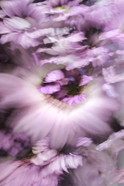 Purple Spring Art | KJ's Studio