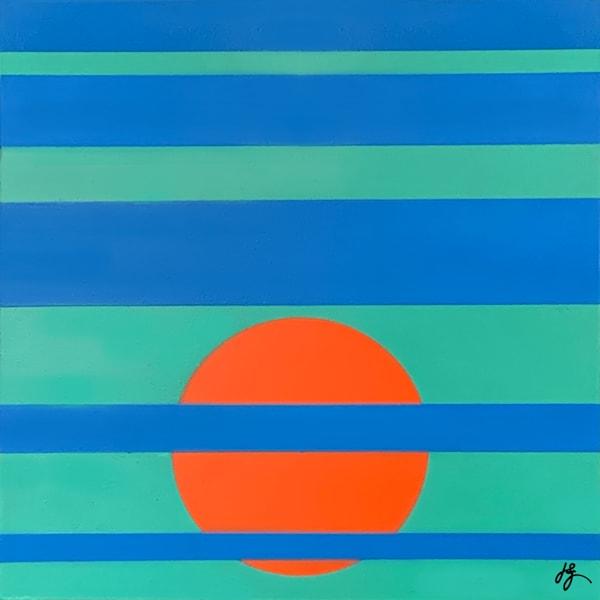 Sun #9, Print Art | Jon Savage Contemporary Art