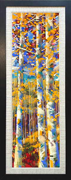 Golden Aspen #3 Art | Michael Mckee Gallery Inc.