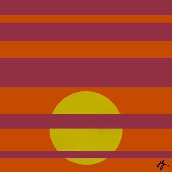 Sun #10, Print Art | Jon Savage Contemporary Art