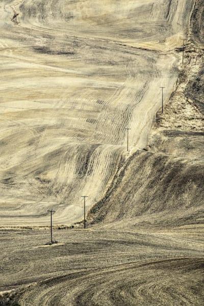 Fall Palouse Brushstrokes Photography Art | Monty Orr Photography