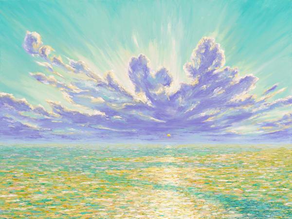 Sun Salutation • Original Art | Kate Wilson Fine Art