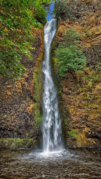 """""""Horsetail Falls"""" by Fred Neveu."""