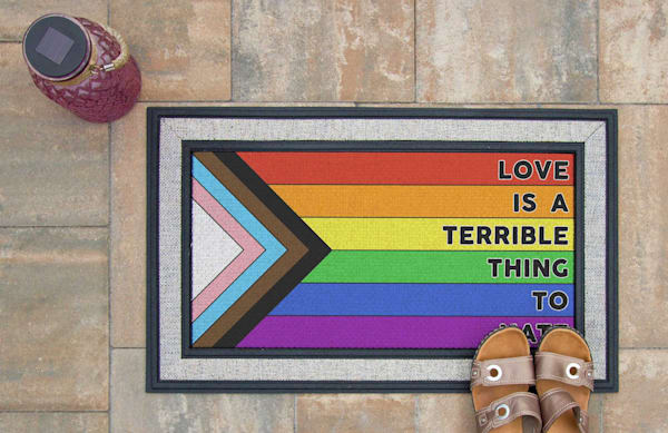 Love Is A Terrible Thing To Hate Doormat