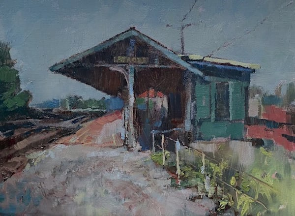 Latrobe Train Station | Bkern Fine Art