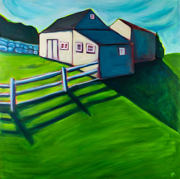 Weir Farm Barn Art | RPAC Gallery