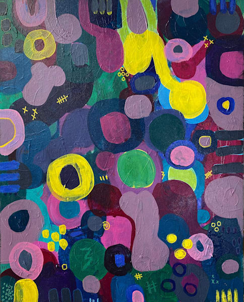 Crazy Shade Of Purple  Art | Abstraction Gallery by Brenden