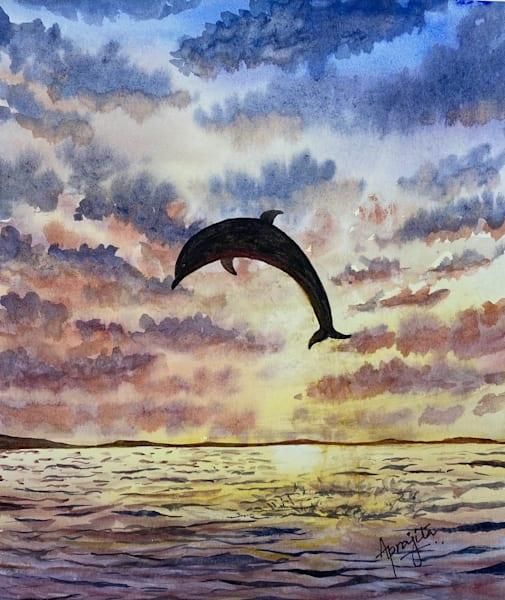 """""""Taking the Leap"""" Art Print by Aprajita Lal"""