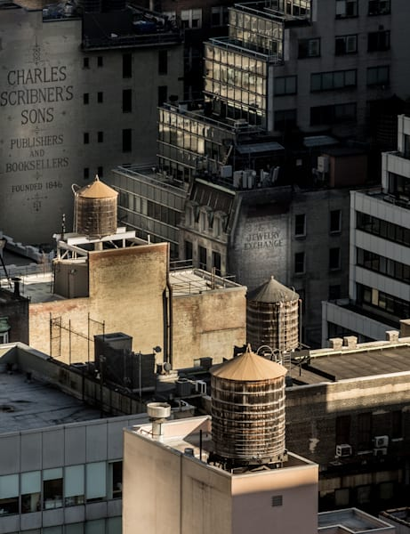 Midtown Water Towers, Nyc Photography Art | Ben Asen Photography