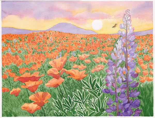 Springtime In Kern County, California Art | East End Arts